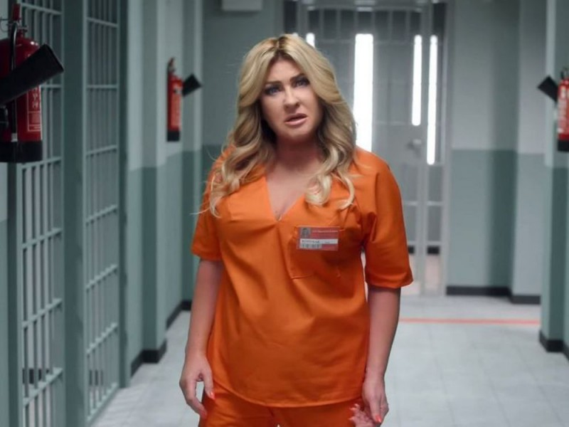 "Beata Kozidrak w spocie do ""Orange is the new black"""